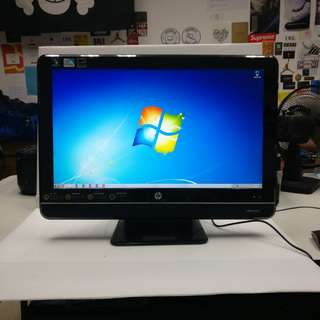 [AIO Pentium 4GB] HP All in one 200-5108hk Pentium-E5500 4GB Ram 320GB HDD (With Charger/Box/Mouse)