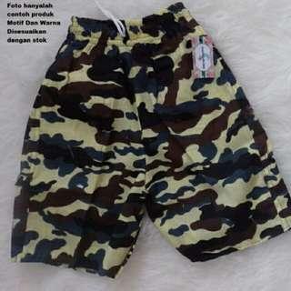 OBRAL!! Min Beli 3pcs Celana Army Anak (3-5th)