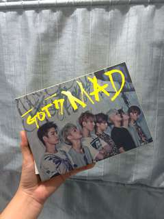 GOT7 MAD ALBUM with Yugyeom PC
