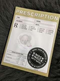 Knock Knock - Prescription Pad