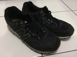 NB ML 574 GDA Classic Navy Gold Encap Original