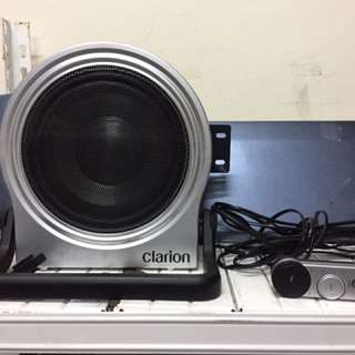 subwoofer clarion complete remote