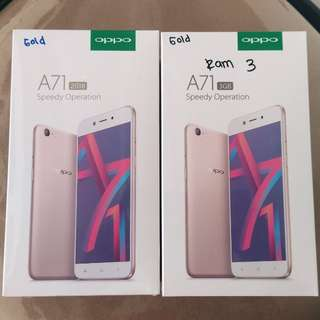 Oppo A71 2018 Cash/Credit Dp15% Promo