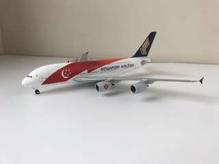 Singapore Airlines SG50 Airbus 380 Scale 1:200