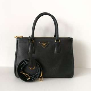 Authentic Prada Black Saffiano Bag