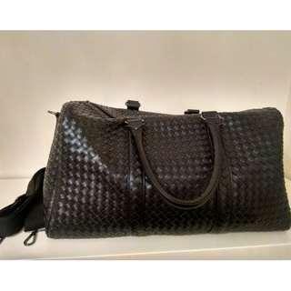 Bottega Veneta Style~真皮行李袋/運動袋 (可上肩) 100%new