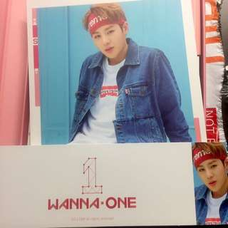 [WTT] HA SUNGWOON To Be One (Pink Ver.)