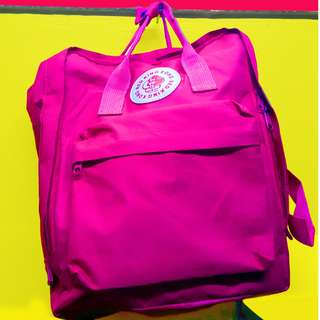 NAME YOUR PRICE | ✔ DETAILS!  KingKong Backpack (Fuschia Pink) Korean Bag