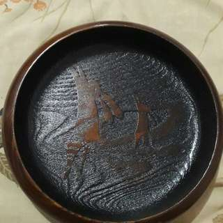 Japanese Wooden Plate