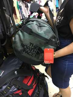 Northface Camo Duffle Bag