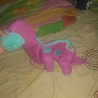 #MauMothercare boneka baby dino ada resleting untuk simpan koin