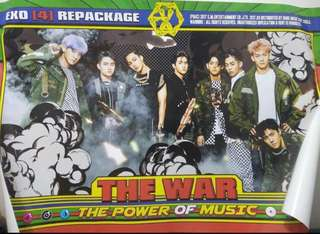 Exo power group poster.