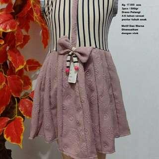 Dress Pita Anak (M,L)