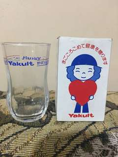 Rare Yakult Glass Collection