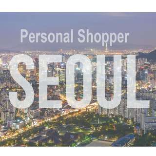 Personal Shopper in Seoul