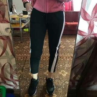 NEW ! Stripe side pants