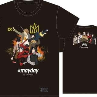 Mayday 五月天 Life Tour Black Tee/ Tshirt (黑暗騎士第五分隊 黑T)- 2017 Concert T-shirt