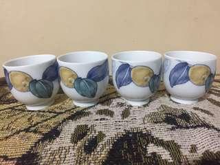 Vintage Japanese Mini Tea Cups