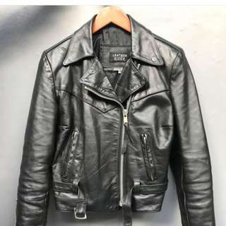 Jaket kulit made usa raider