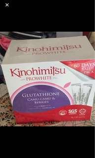 Brand New Kinohimitsu Prowhite 60days value pack