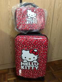 Hello Kitty 小型行李箱 (2件)
