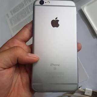 Iphone 6s grey 64gb ex singapore