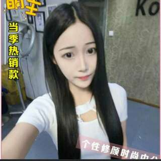 *No Instocks! Preorder Korean centre parting ladies full wig   * waiting time 12days after payment is made *pm to order