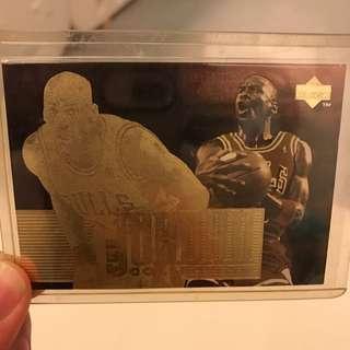 Vintage upper deck Michael Jordan Trading Card