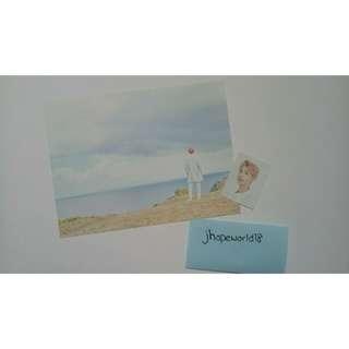 BTS 2018 Season Greetings Postcard+ID Photos(RM,JIN,SUGA,J-HOPE)