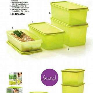 Tupperware with free