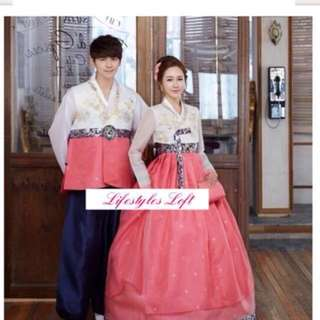 Couple wedding hanbok for sale