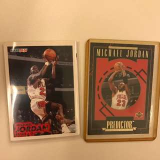 Vintage Basketball trading Cards From 90's