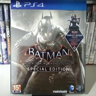 PS4 - Batman: Arkham Knight (Steelbook Edition)