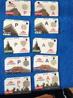 Old TTC passes for collection