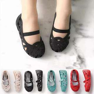 Girl Sandal Mellisa (black & red)