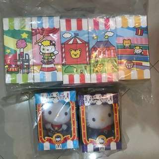 [BNIB] McDonald hello kitty Circus of Life (complete set from Hong Kong)