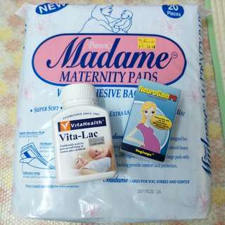 Bundle : Breast feeding and Maternity supplements