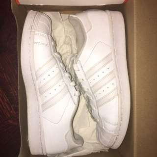 REDUCED PRICE All white superstars