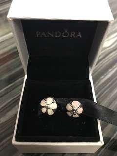正品 Pandora 純銀 S925 閃石 定位釦 串飾 手鈪 手鍊 手鏈 pave clip charm links