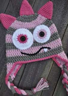 Crochet kids hats
