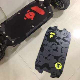 Dualtron Custom Deck and Decal