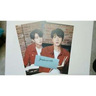 BTS Mediheal Photocards(JIN,J-HOPE,JIMIN)