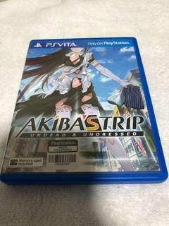Akiba Strip psp vita game