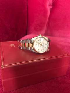 Rolex Oyster Perpetual Date 34mm 2-tone yr2000