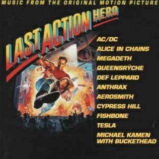 arthcd THE LAST ACTION HERO Soundtrack CD