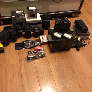 CANON 1DX MARK 2 MASSIVE BUNDLE