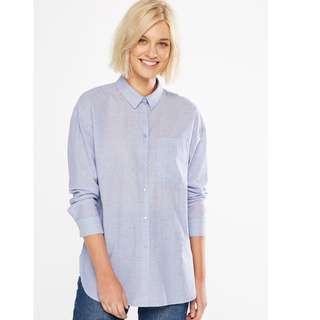 Blue Shirt - Size 8