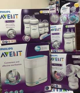 NEW Avent Complete Natural set