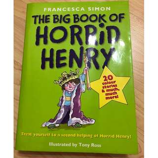 The big book of horrid Henry