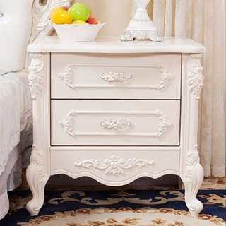 BN Bedside tables classic Victorian French Country